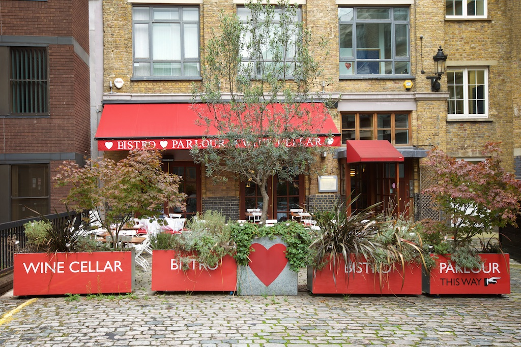 Bleeding Heart Bistro - London