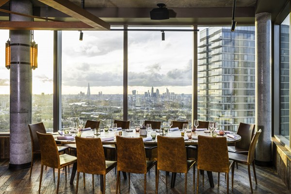 Bokan london canary wharf london bookatable for Sala wharf 73