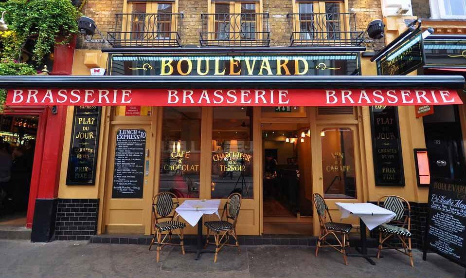 Reserve a table at Boulevard Brasserie