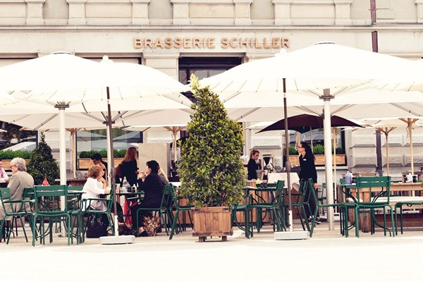 Brasserie schiller central zurich bookatable for Haute zurich