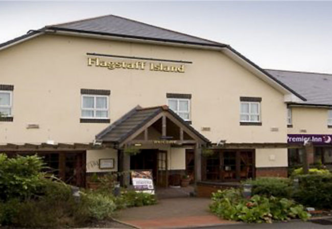Brewers Fayre - Flagstaff Island - Ashby-de-la-Zouch - Leicestershire