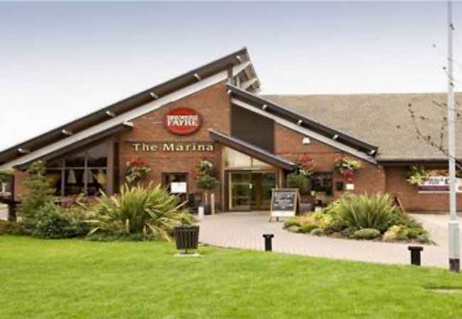 Reserve a table at Brewers Fayre - Marina