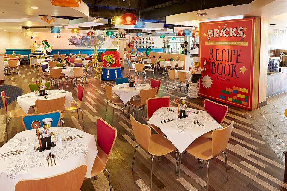 LEGOLAND® California Resort  - Bricks Restaurant - Kalifornien