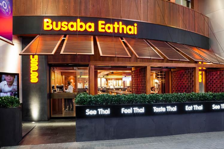 Busaba Eathai The O2 - London