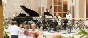 Afternoon Tea Dance at the Palm Court-The Waldorf