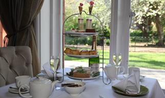 Afternoon tea & free-flowing Champagne £39.50 per person