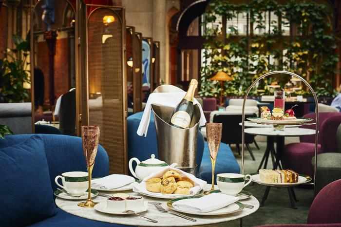 Afternoon tea at The Hansom - St. Pancras Renaissance