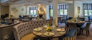 Emlyn Restaurant at Burford Bridge Hotel