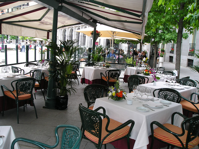 Cafe de Oriente - Madrid
