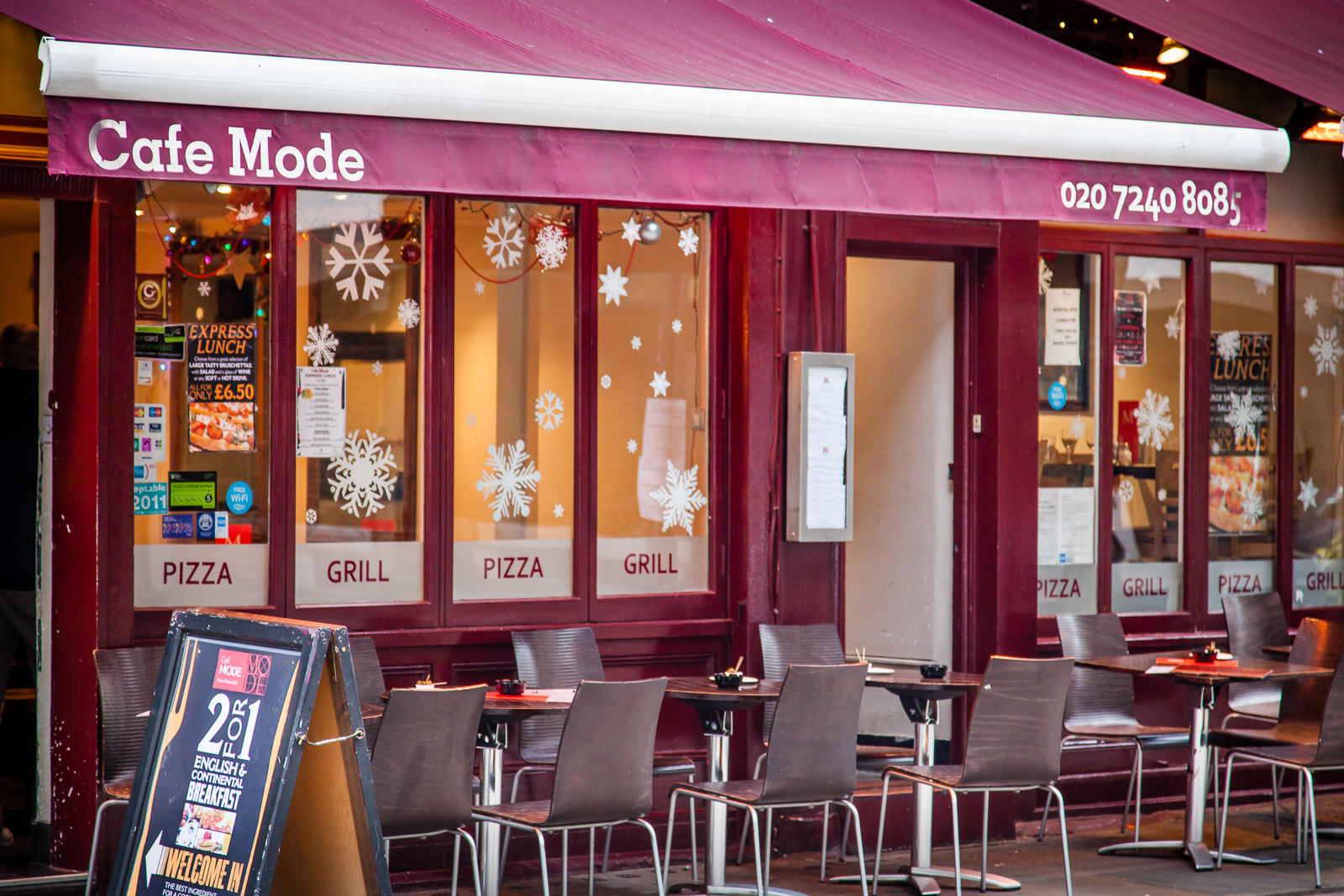 Cafe Mode - London