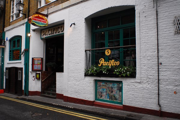 Cafe pacifico covent garden london bookatable for Cafe de jardin in covent garden