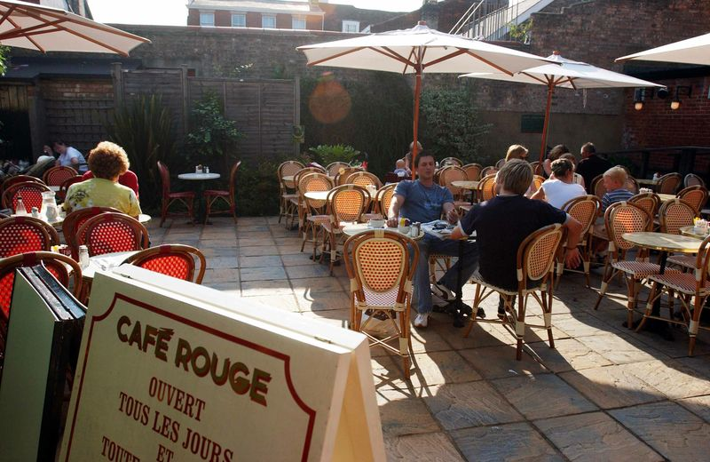 Café Rouge - Bury St Edmunds - Suffolk
