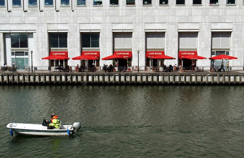 Café Rouge - Canary Wharf - London