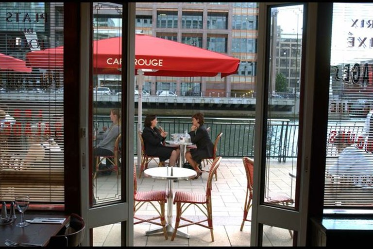 Cafe Rouge Canary Wharf Breakfast