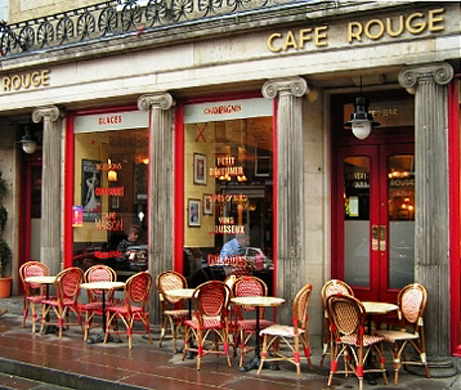 Reserve a table at Café Rouge - Edinburgh