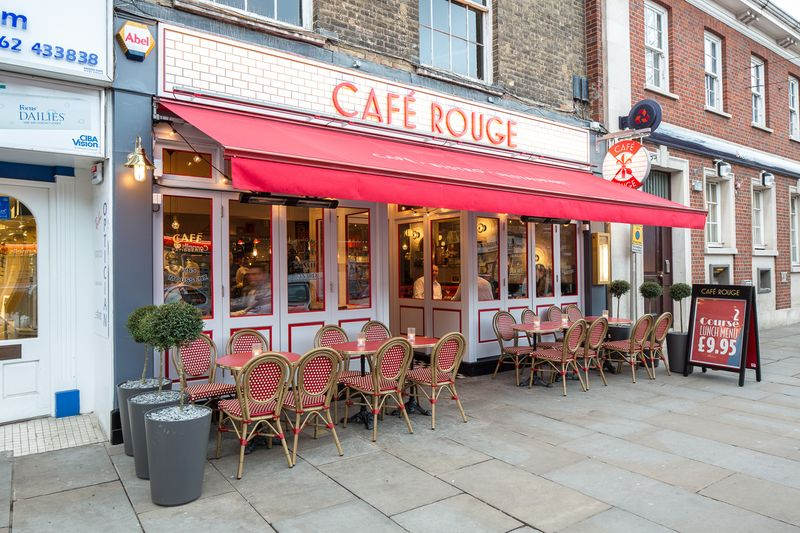 Reserve a table at Café Rouge - Hitchin