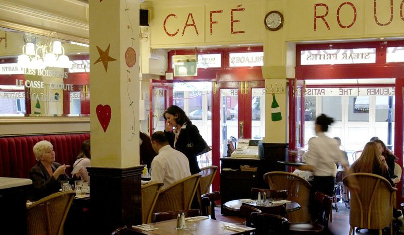Reserve a table at Café Rouge - James Street