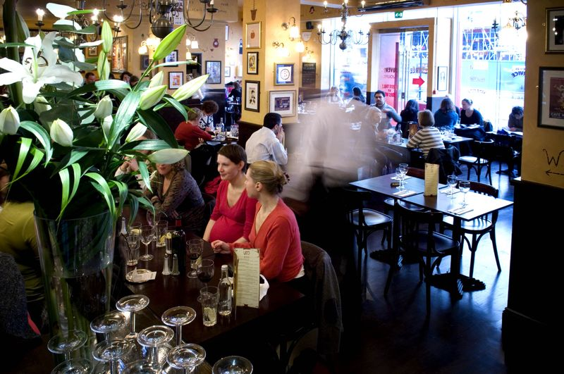 Reserve a table at Café Rouge - Kingsway
