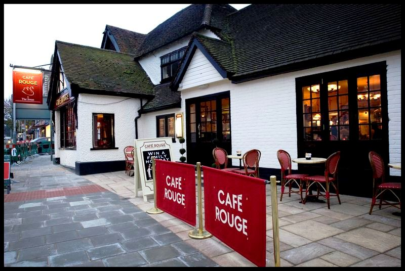 Café Rouge - Ruislip - Yttre London