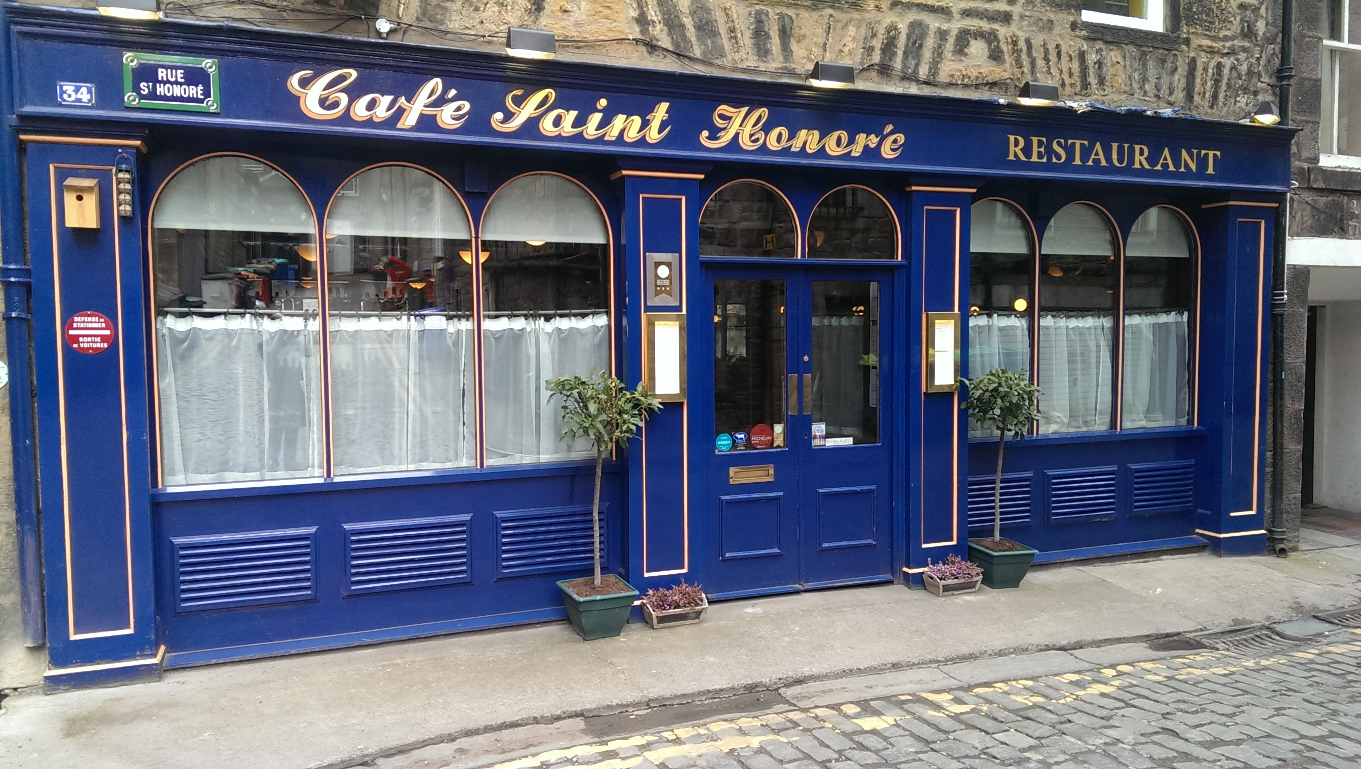 Cafe St Honoré - Edinburgh