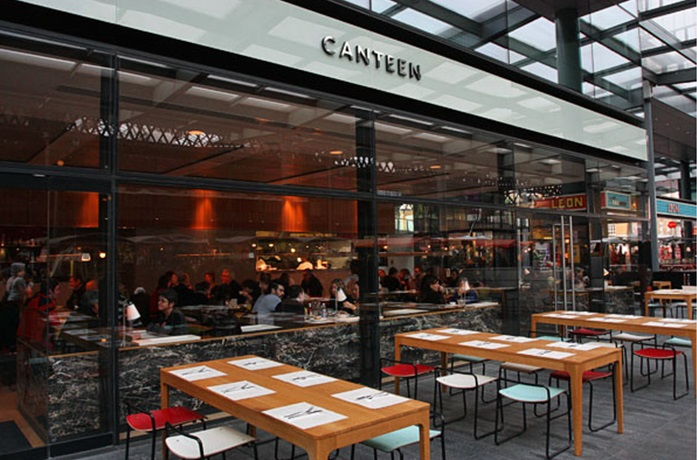 Reserve a table at Canteen - Spitalfields