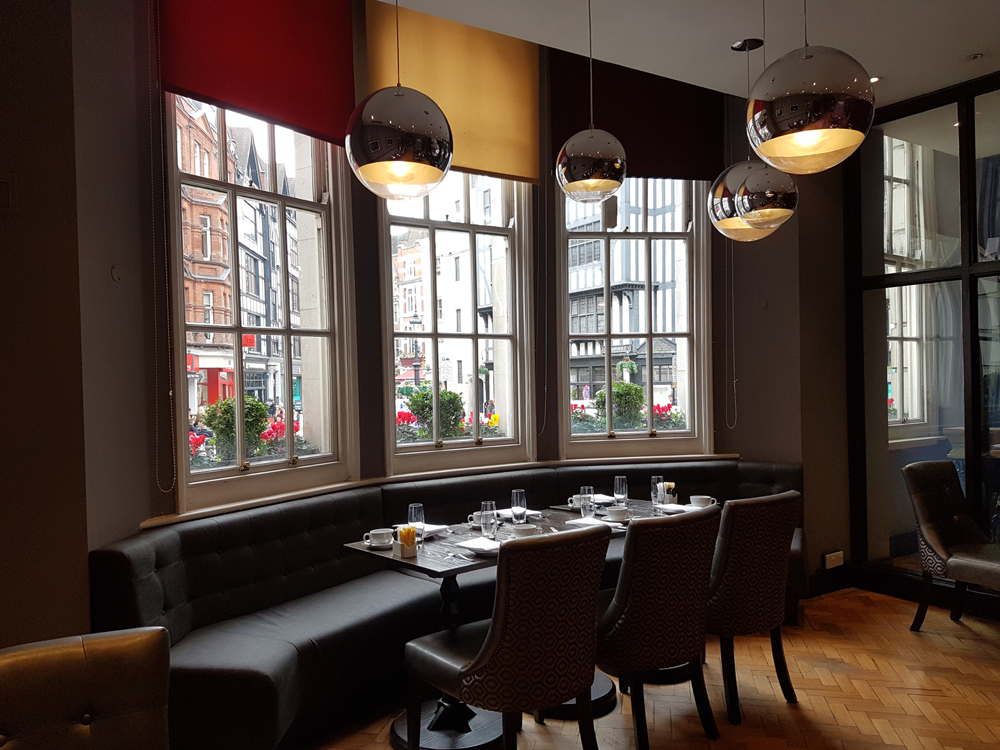 Carnaby Brasserie, Soho - London