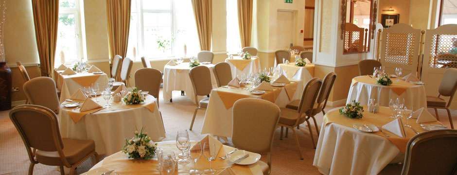 Carriages Restaurant at Alveston House Hotel - Bristol
