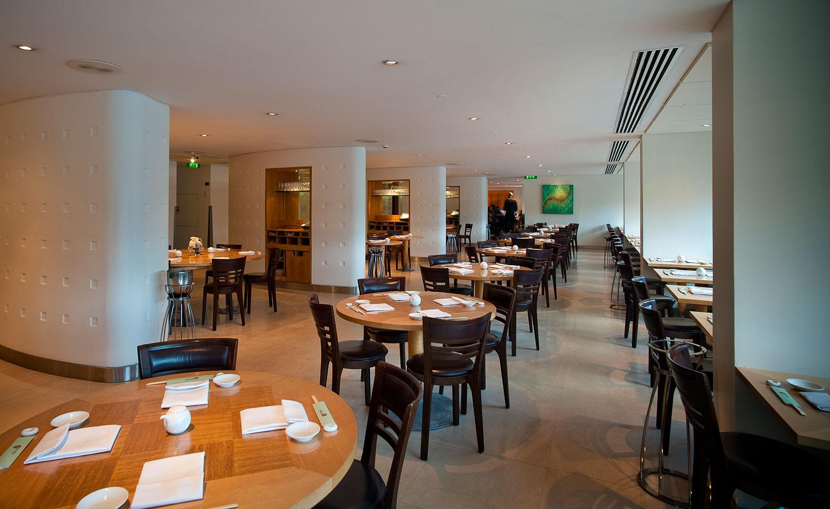 Nobu old park lane i london book et bord for Best private dining rooms west end london