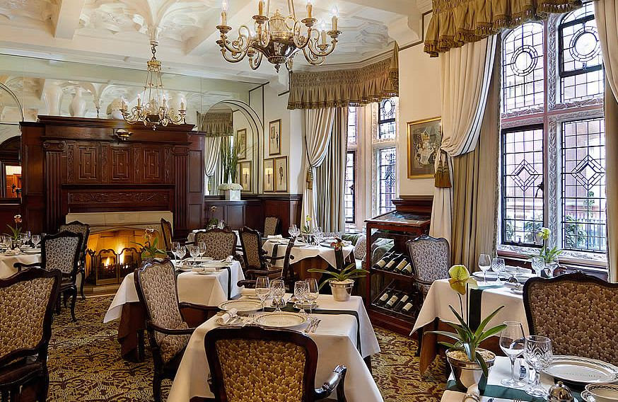 Reserve a table at Chenestons Restaurant at The Milestone Hotel