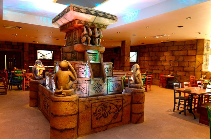 Chessington World of Adventure Resort - Temple Restaurant & Bar - Surrey