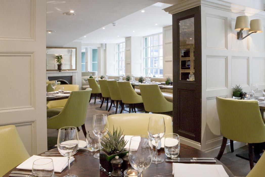Reserve a table at Chiswell Street Dining Rooms