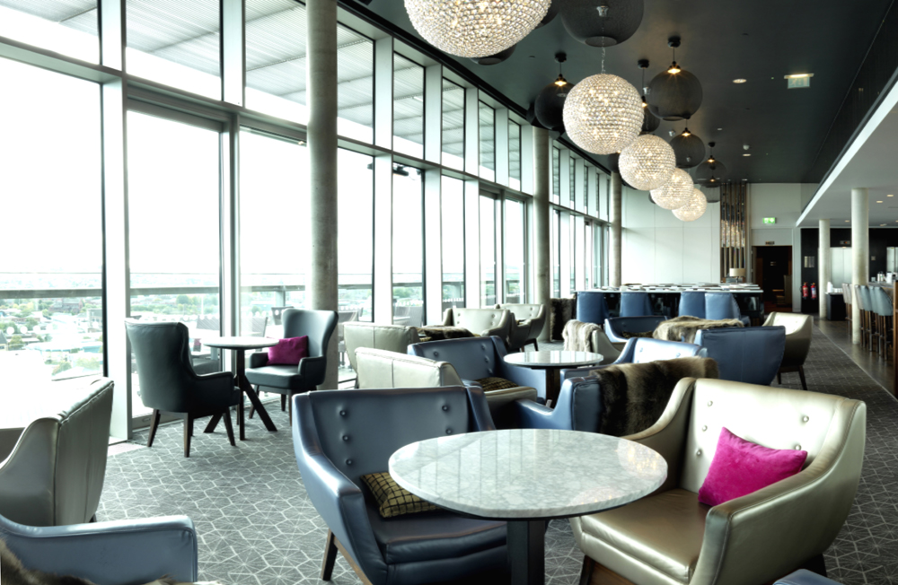 Sky Lounge & City Café at DoubleTree by Hilton Leeds - Leeds
