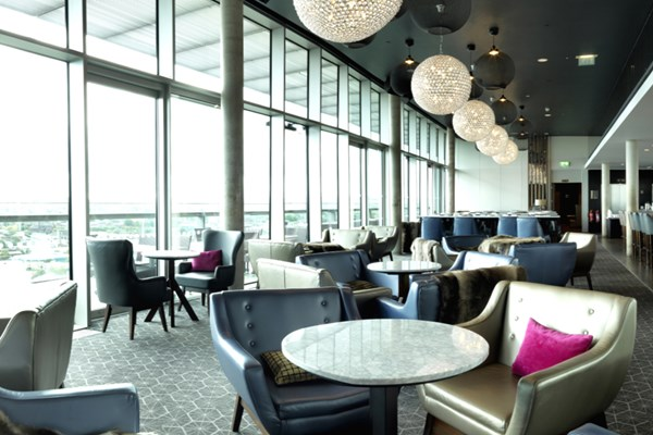 Sky Lounge & City Café at DoubleTree by Hilton Leeds - West Yorkshire