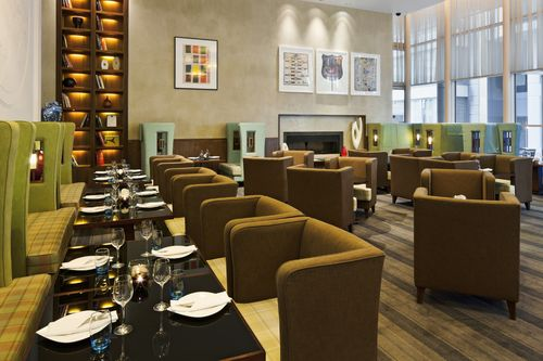Reserve a table at City Lounge at Crowne Plaza
