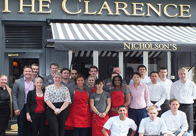 Reserve a table at Clarence