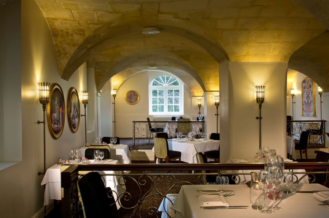 Cloisters Restaurant at Bailbrook House Hotel - Bath