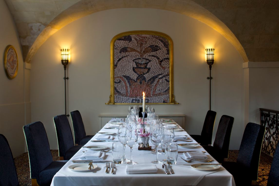 Cloisters Restaurant at Bailbrook House Hotel - Somerset