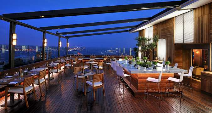 Cloud 7 Bar and Restaurant at Hilton Istanbul Park SA - Ankara