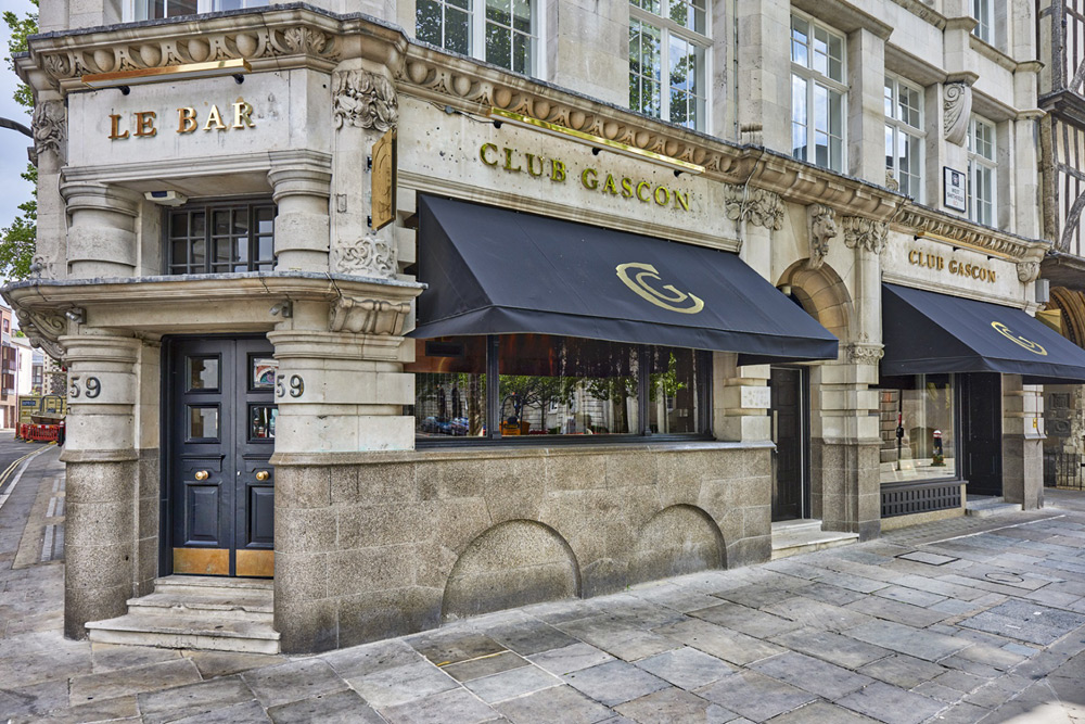 Club Gascon and Le Bar - London