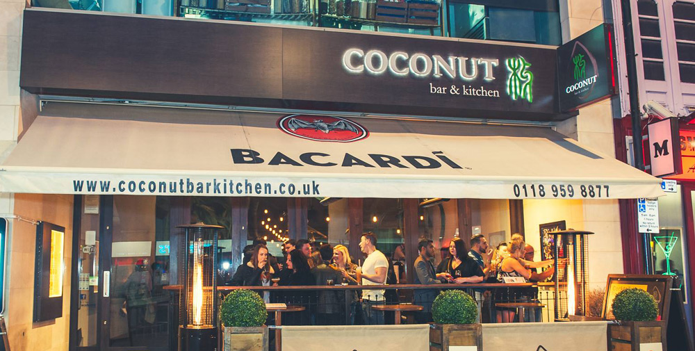 Coconut bar kitchen