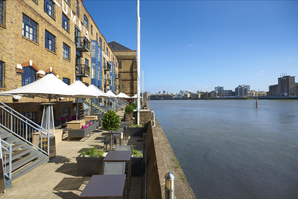 Terrazza on the Thames & Columbia Restaurant - London