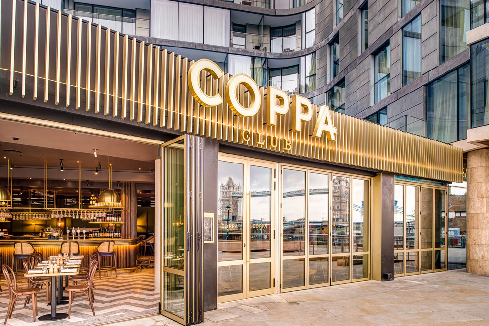 Coppa Club Tower Bridge London Bookatable