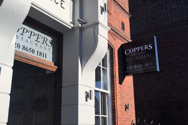 Coppers British Restaurant - Yttre London