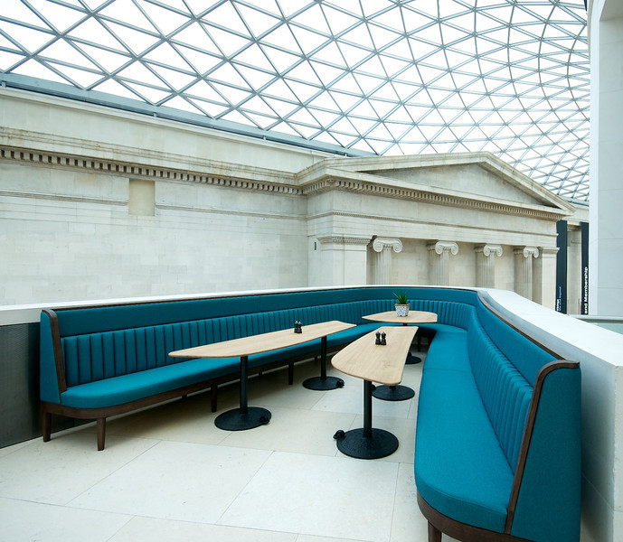 Great Court Restaurant at The British Museum - London