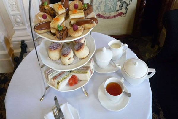 Afternoon Tea at Crewe Hall - Cheshire