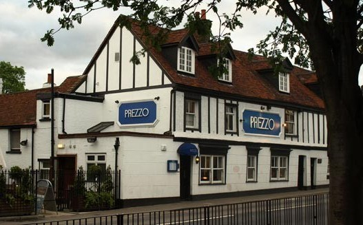 Reserve a table at Prezzo - Hornchurch