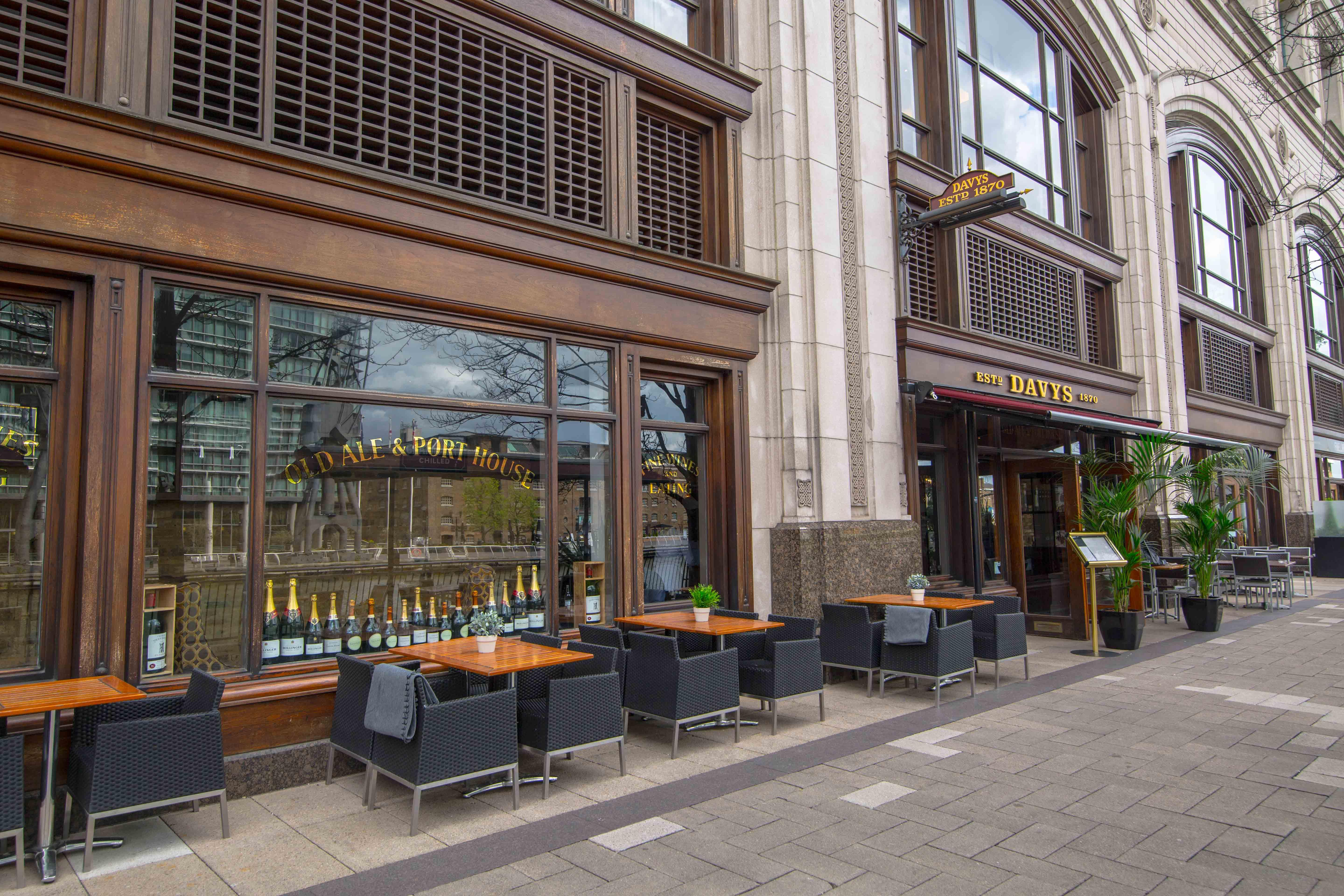 Davy's at Canary Wharf - London