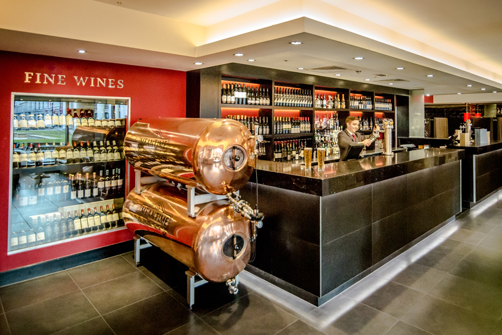 Davy's at Woolgate Bar and Brasserie - London