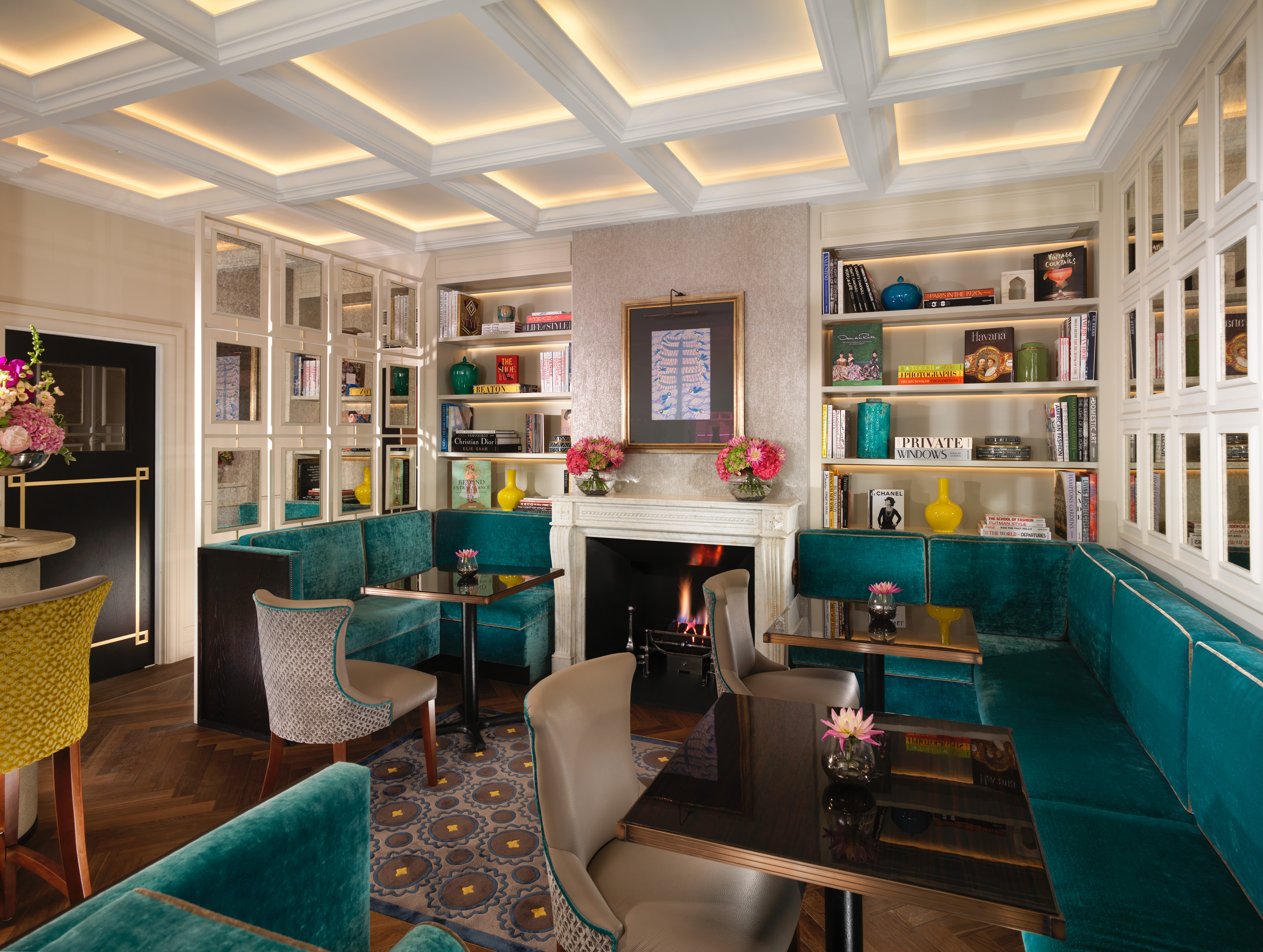 Reserve a table at The Drawing Room at Flemings Mayfair Hotel