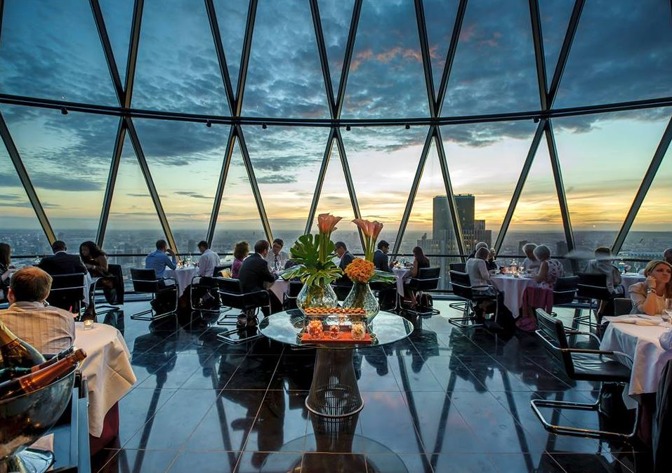 Reserve a table at Searcys at The Gherkin